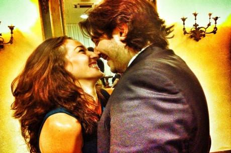 Kara Scott and Giovanni Rizzo