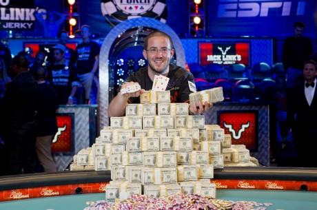 2012 World Series of Poker Main Event Champion Greg Merson