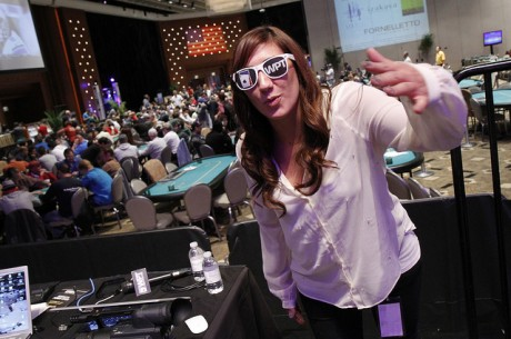 WPT Casino and Player Relations Manager Jeanine Deeb.