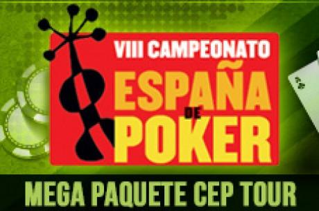 Mega Paquete CEP Tour con PokerHeaven.es
