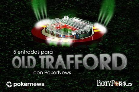 Juega en Old Trafford con con PokerNews