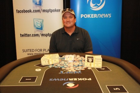 "Todd Kerr Wins First Ever Mid-States Poker Tour ""Keep It or Cash It"" Event"