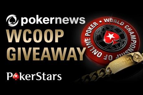 Iedereen kan meedoen aan de PokerNews WCOOP Giveaway freeroll op PokerStars vanavond!