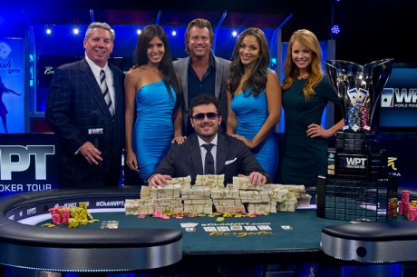 Anthony Zinno Defeats Vanessa Selbst to Win 2013 WPT Borgata Poker Open for $825,099