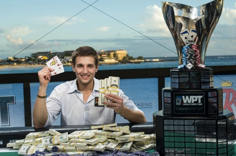 "Tony ""Bond18"" Dunst Wins World Poker Tour Caribbean"