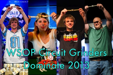 Top 10 Stories of 2013: #7, World Series of Poker Circuit Grinders Dominate