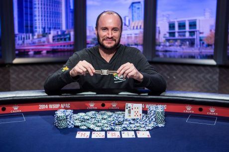 0f8fa6961c 2014 WSOP APAC Day 16: Mike Leah Captures First Gold Bracelet in $25,000 High Roller