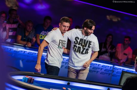 Dan Colman and Olivier Busquet Auction Poker Lessons For Charity