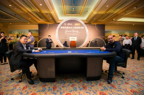 Phil Ivey, Johnny Chan, and Tom Dwan Attend Poker King Club Macau Grand Opening