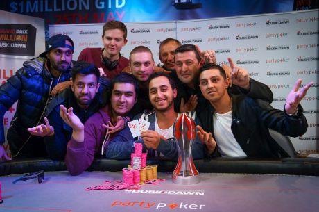 UK & Ireland PokerNews Roundup: Grand Prix Champion Crowned