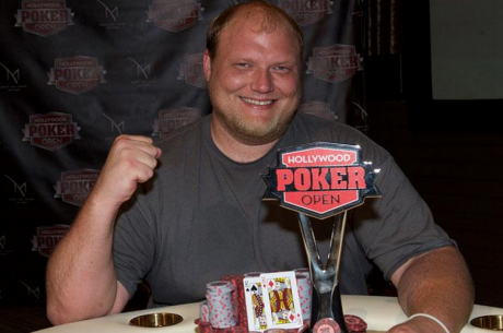 Keven Stammen Wins the Hollywood Poker Open Season 3 Championship Event for $347,052