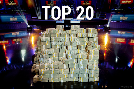 All Time Money List Top 20