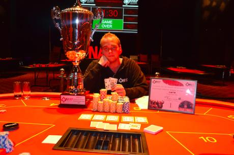 Tobias van der Meer Nederlands Amateur Kampioen Poker 2015