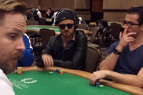 Breaking Bad Aaron Paul WSOP 2015 Poker