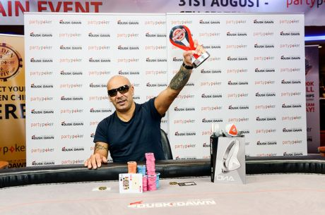 Terry Jordon: 2015 Pokerfest Live Main Event champion