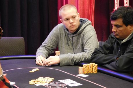 2015 River Poker Series Main Event Day 1c: Barry Hutter Storms To the Top