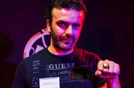 Sergio Castelluccio Wins Italy's First-Ever WSOP CIrcuit Main Event for €114,100