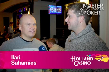Ilari Sahamies in Master Classics of Poker Amsterdam