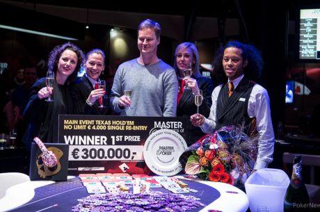Jussi Nevanlinna wint 2015 Master Classics of Poker Main Event (€300.000), Van Brugge vierde