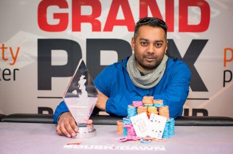 Sunny Mistri: 2015 Grand Prix Poker Tour Stamford Bridge champion