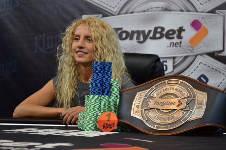 Alexandra Usoltseva Wins TonyBet OFC Championship Main Event for €30,007
