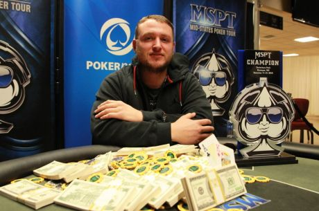 Carl Carodenuto Wins 2015 MSPT Canterbury Park Main Event for $116,103