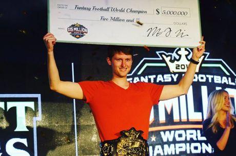 PokerNews Boulevard - Pokerspeler Aaron Jones wint $5 miljoen bij DraftKings