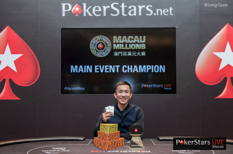 Alvan Zheng Wins 2016 Macau Millions, the Largest Event in Macau Poker History