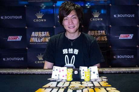 2016 Aussie Millions Day 7: Yuki Ko and Gregory Cook Take Down Titles