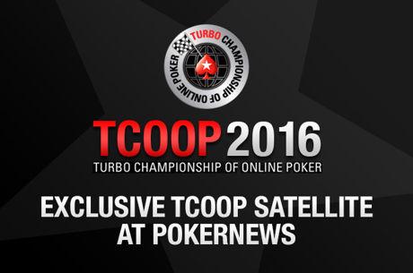сателлит в TCOOP 2016 на PokerStars