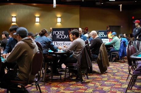 Deerfoot Inn & Casino Winter Super Stack heads-up pot-limit Omaha
