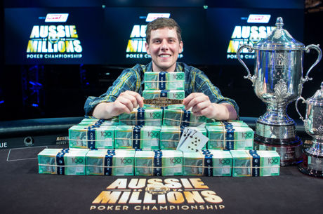 Ari Engel Wins 2016 Aussie Millions Main Event for $1,600,000