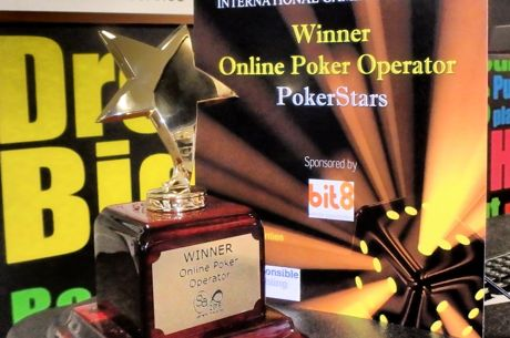 "PokerStars Named ""Best Online Poker Operator"" for Fourth Consecutive Year"