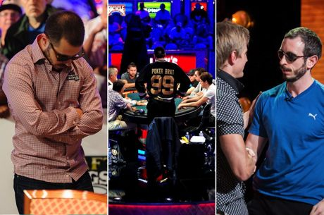 The Pain of a Poker Tournament Exit