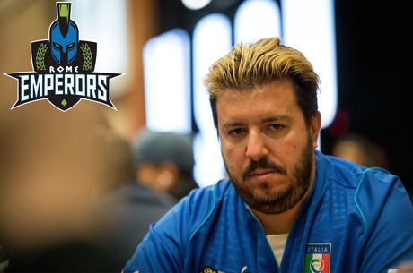 Rome Emperors, Headed by Max Pescatori, Draw Top Pick in Global Poker League Draft
