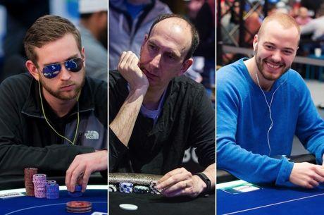 Connor Drinan (left), Erik Seidel (center), and Sean Winter (right)