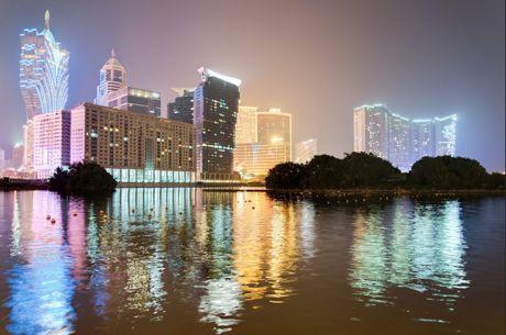 The Macau skyline