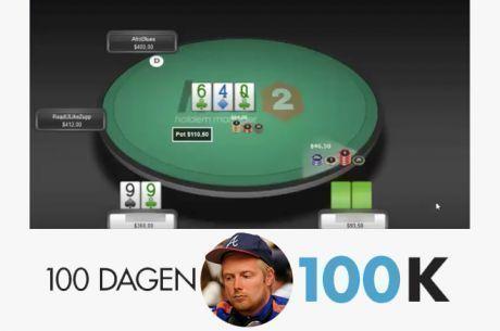 100 dagen $100k - Dit had de meest epic hand van het jaar kunnen worden!