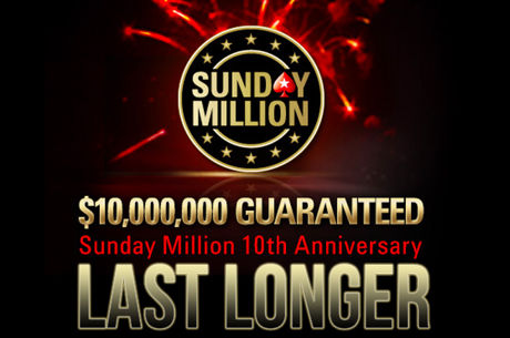 Win een 300-delige PokerStars chipset als je meedoet aan de Sunday Million Last Longer op het forum