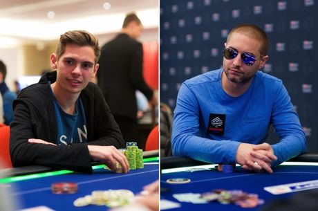 Fedor Holz (left) and Chance Kornuth (right)