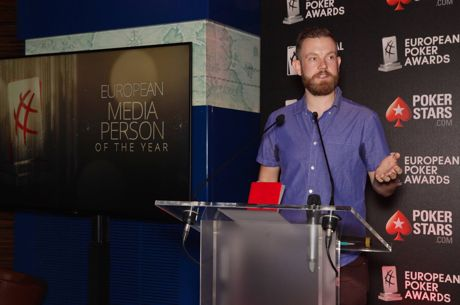 "Remko Rinkema wint award voor ""Media Person of the Year"" bij European Poker Awards!"