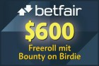 Betfair Freeroll