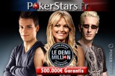 PokerStars.fr Demi-Million : battez les people pour 500.000€
