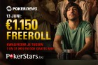 PokerStars.be €1.150 freeroll