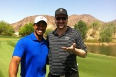 Tiger Woods &amp; Phil Hellmuth