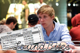 "[SoundBites] Bryan ""Brryann"" Ruiter tweede in SCOOP 27-H ($35.040)"