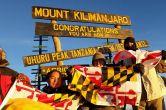 Шеннон Шорр на вершині Кіліманджаро