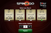 pokerstars spin&go