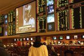 Odds boards in a Las Vegas sportsbook