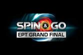 EPT Grand Final Spin & Go's Now Running for €10 on PokerStars